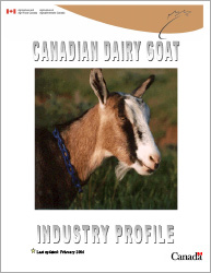 Report - Canadian Dairy Goat Industry Profile