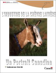 Rapport - L'industrie de la chèvre laitière - Un portrait Canadien