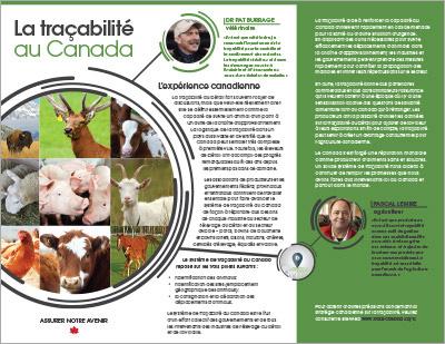 Brochure - La traçabilité au Canada