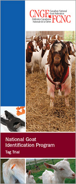 Brochure - National Goat Identification Program