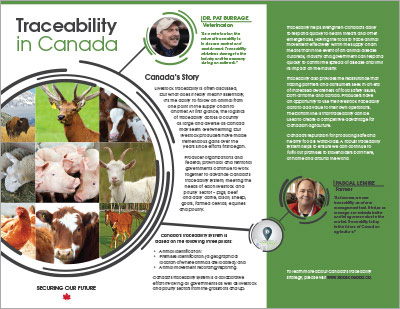 Traceability in Canada Brochure